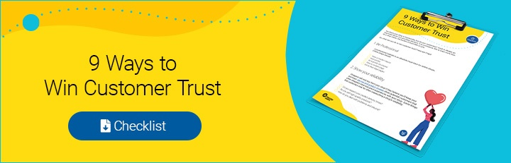 Download 9 ways to win customer trust checklist