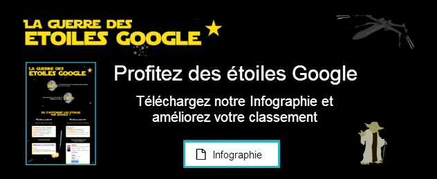 Téléchargez notre infographie sur les étoiles Google