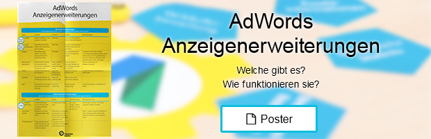 AdWords Anzeigenerweiterungen