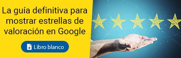 Guía para mostrar estrellas de valoración en Google