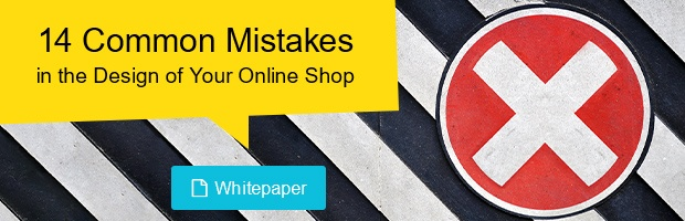 14 common mistakes in the design of your online shop
