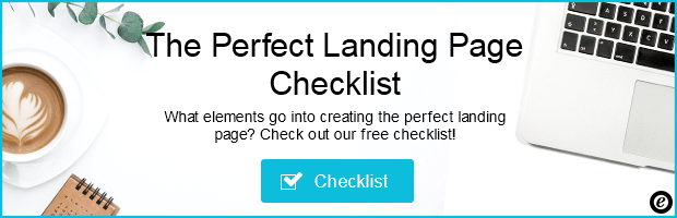 perfect landing page checklist