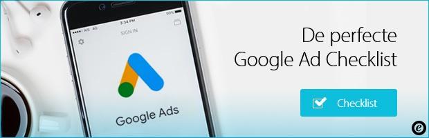 Gratis download Google advertentie checklist