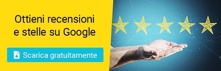 Come ottenere stelle e recensioni su Google