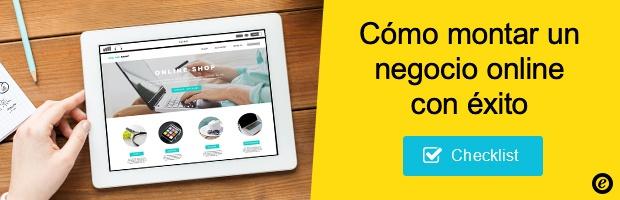 Checklist montar un negocio online con éxito