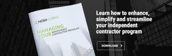 Managing Your Independent Contractor Program