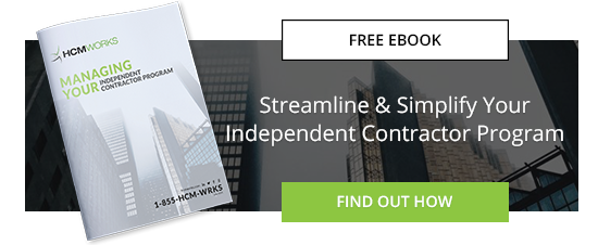 Steamline & Simplify Your Independent Contractor Program