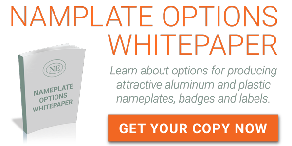 Aluminum Nameplate and Plastic Label Options Whitepaper