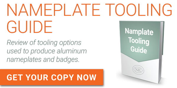aluminum tooling ebook, aluminum nameplate tooling, nameplate resource