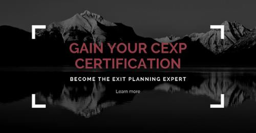 CEXP Certification