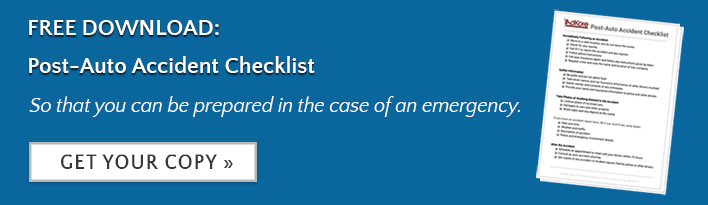 post auto accident checklist pdf
