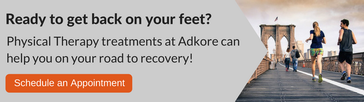 Schedule a physical therapy appointment at Adkore