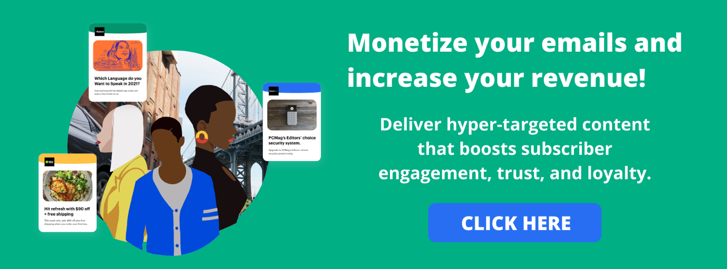 Email Monetization