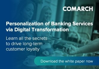 Personalisation of Banking Services via Digital Transformation