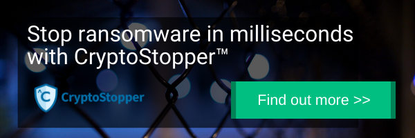 Stop ransomware in milliseconds with CryptoStopper by WatchPoint Data