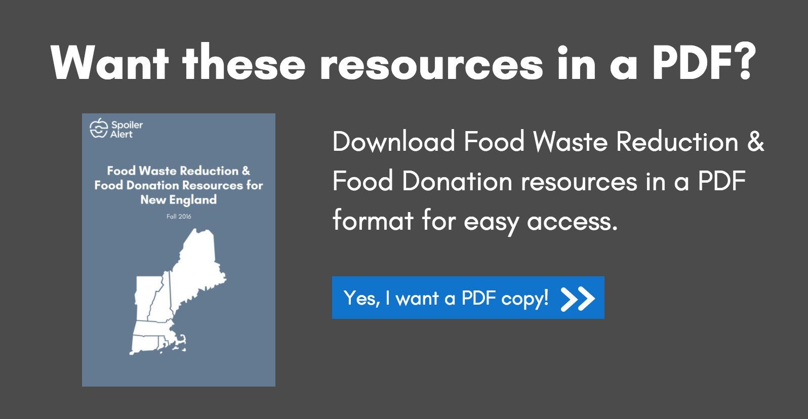 Download Food Waste Reduction & Food Donation Resources for New England Businesses