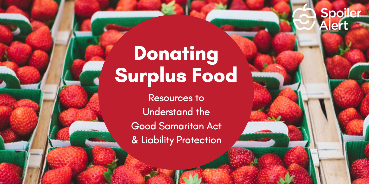Donating Surplus Food eBook