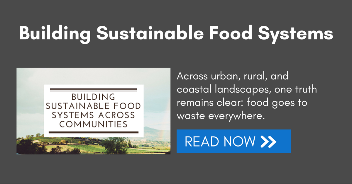 Building sustainable food systems