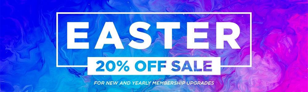 Sharefaith Easter Membership Sale 20% Off Church Media