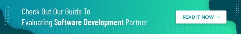 evaluating software development partner