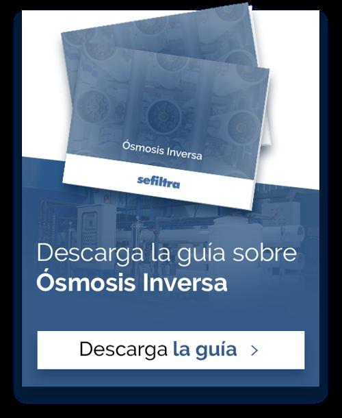 Descarga la guía sobre Ósmosis Inversa