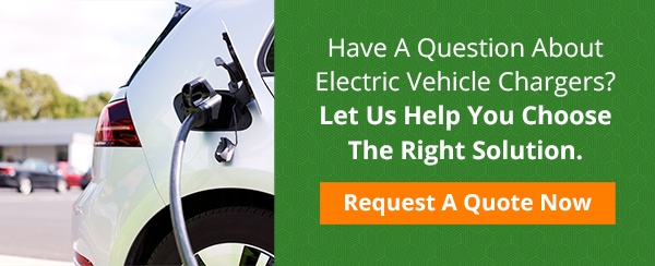 US LED request a quote for electric vehicle chargers CTA