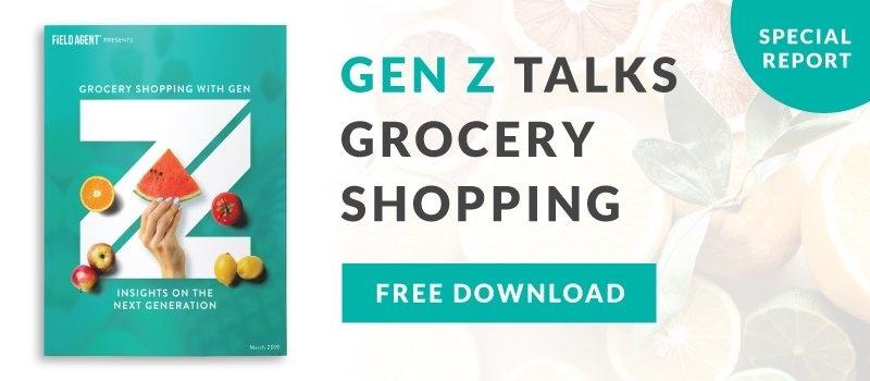Gen Z Grocery Shopping Report Download