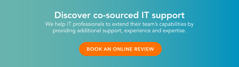 Discover co-sourced IT support. We help IT professional to extend their team's capabilities by providing additional support, experience and expertise. Click here to book an online review