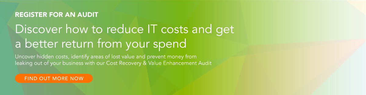 Discover how to reduce IT costs and get a better return from your spend. Click here to find out more about QuoStar's Cost Recovery and Value Enhancement Audit