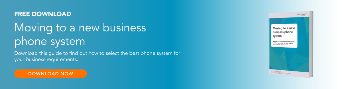 Free Download: Moving to a new business phone system. Download this guide to find out how to select the best phone system for your business requirements. Click here to access.