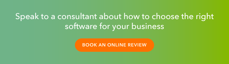 Click here to book an online review and speak to a consultant about how to choose the right software for your business