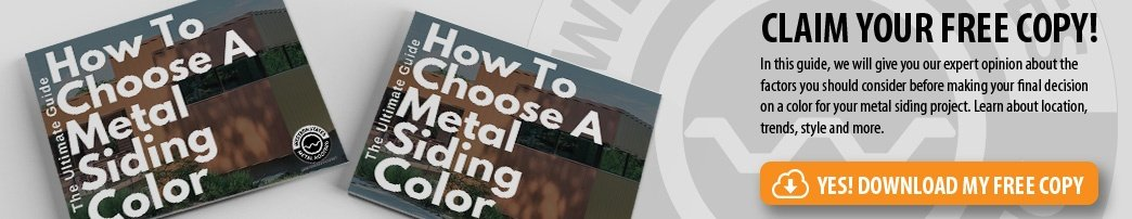 How To Choose A Metal Siding Color Guide