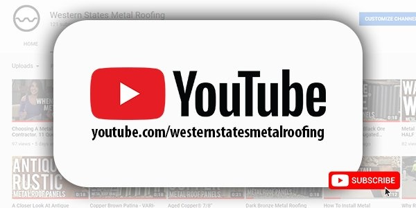 Click here to watch metal roofing videos on our YouTube channel!