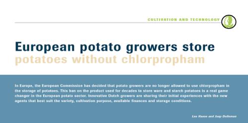 European growers storing potatoes without Chlorprofam