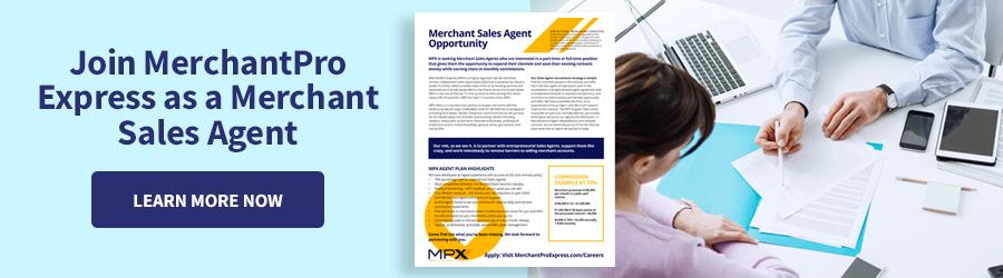Merchant Sales Opportunity