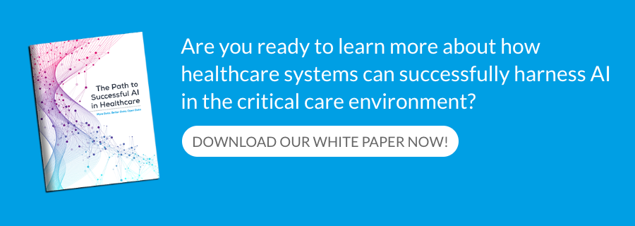 Are you ready to learn more about how healthcare systems can successfully harness AI in the critical care environment?
