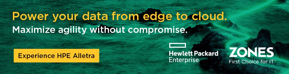 Power your data from edge to cloud. Experience HPE Alletra.