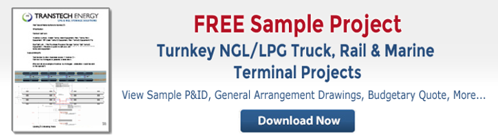 Free Sample LPG NGL Truck Rail Marine Export Terminal Engineering Construction Project
