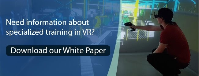 Military training in vr white paper