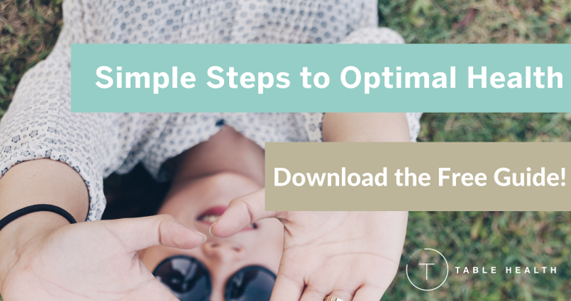 Simple Steps to Optimal Health Free Guide