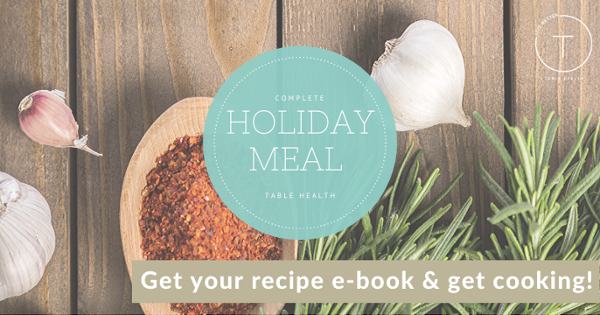 Complete Holiday Meal Recipe E-book