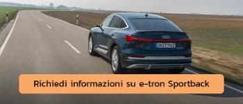 Richiedi informazioni su e-tron Sportback