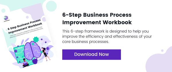 Download the 6 Step Business Process Improvement Workbook