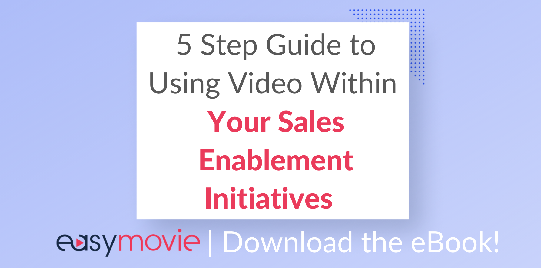 Sales Enablement eBook