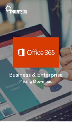 Microsoft Office 365 Pricing CTA
