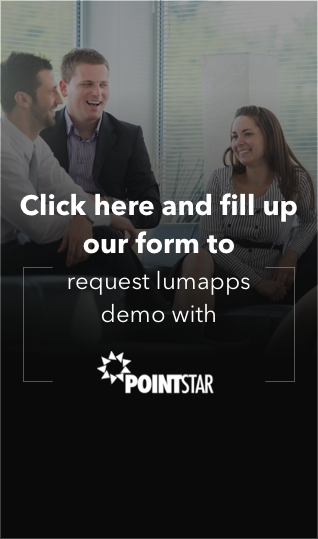 Lumapps Request Demo CTA