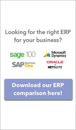 ERP Comparison CTA