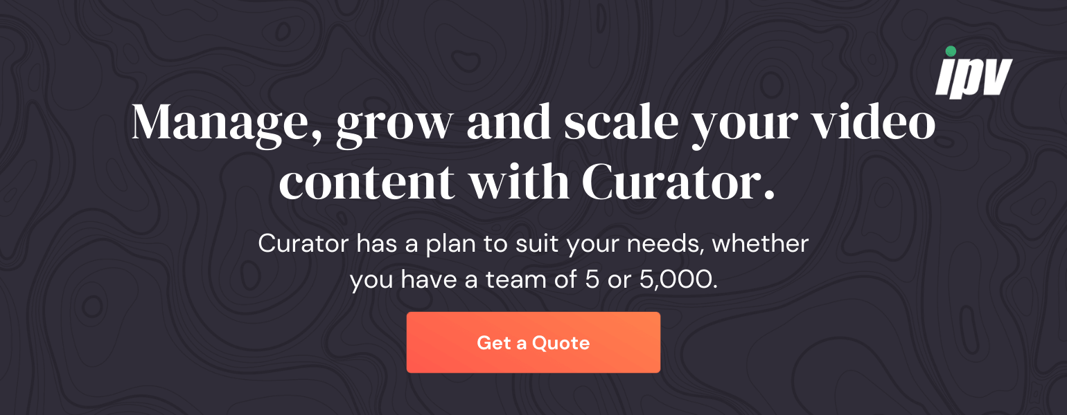 Get a Curator quote