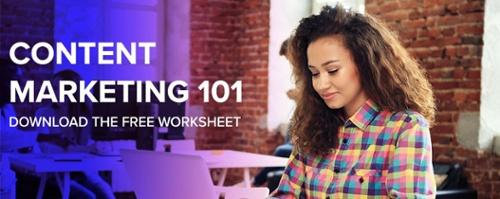 Content marketing free worksheet