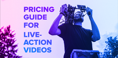Pricing guide for live-action videos from VMG Studios
